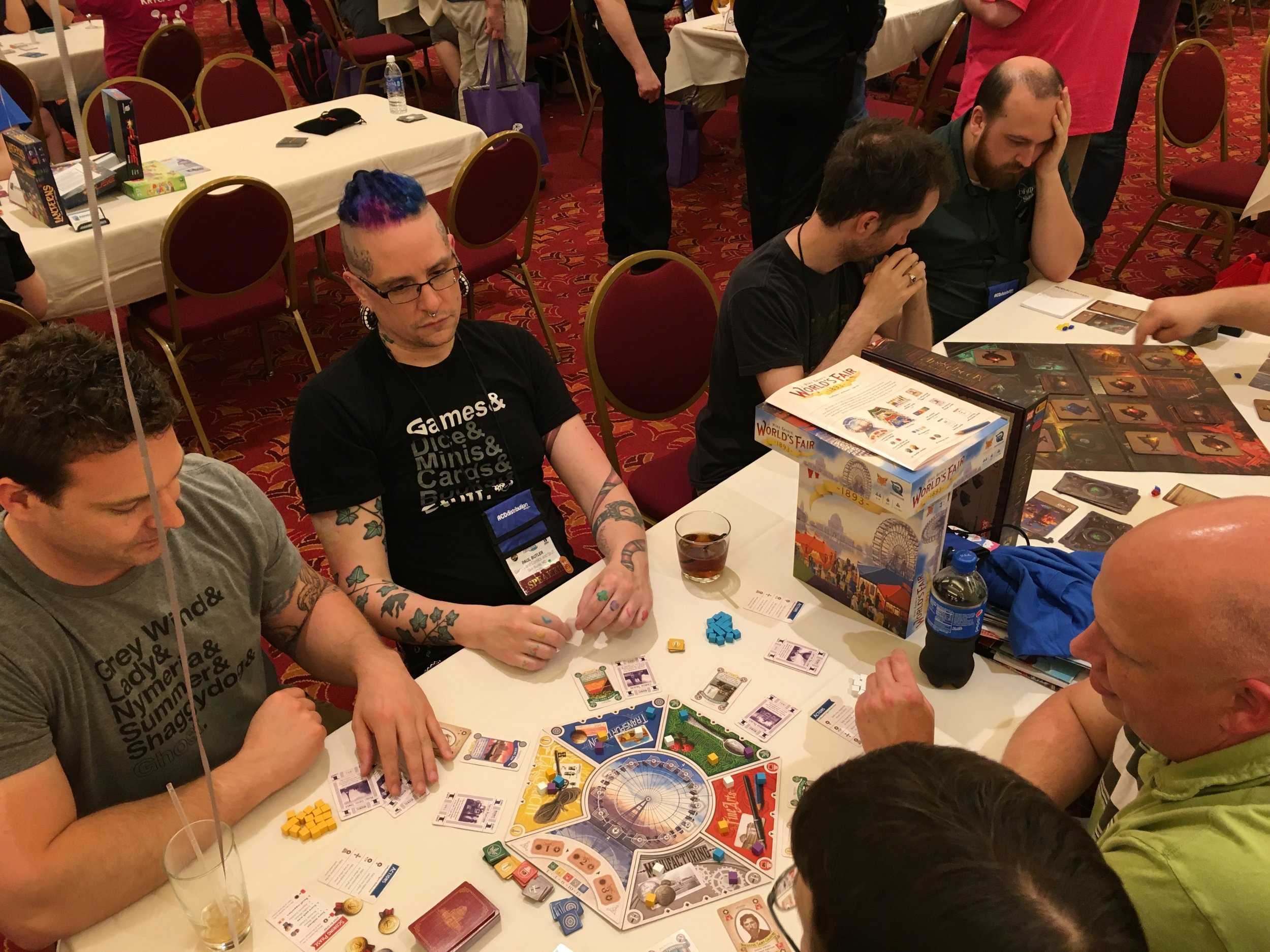 World's Fair 1893 being played at the ACD Games Day.