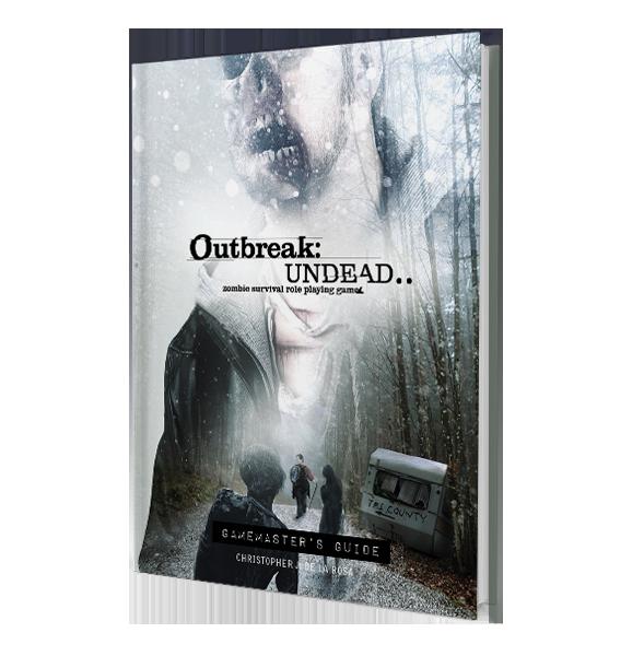Outbreak Undead 2E: Gamemaster Guide: The Survival Horror Simulation RPG -  Renegade Game Studio