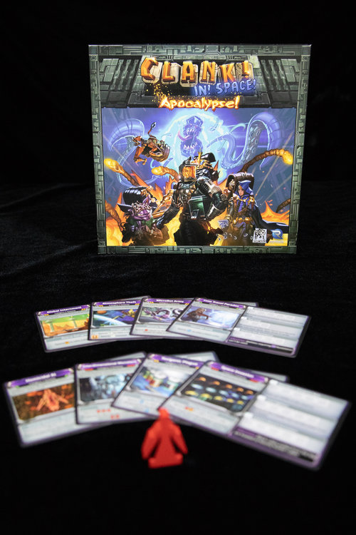Clank In Space Board Game Deck Building Renegade Games
