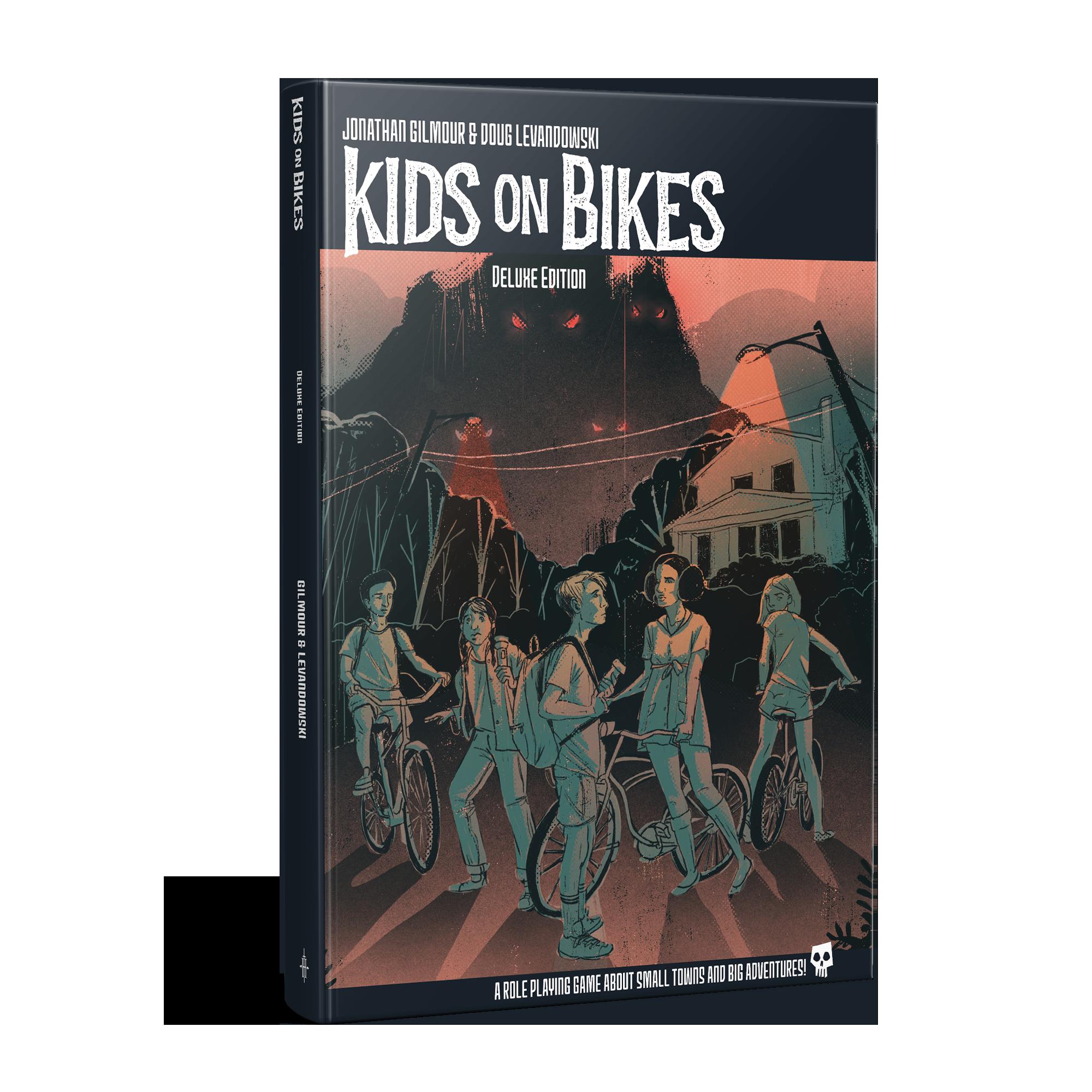 Kids on Bikes Landing Page — Renegade Game Studios