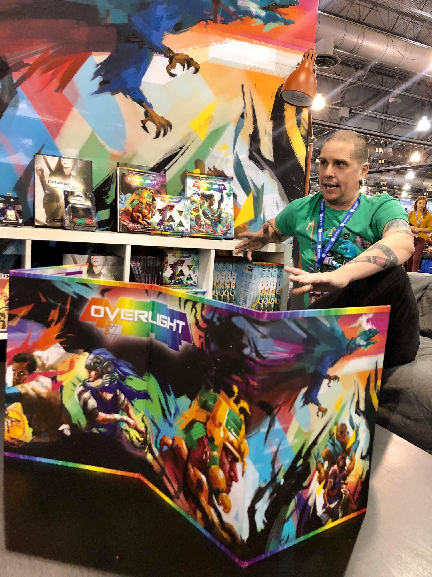 Paul Alexander Butler, co-designer of Overlight!