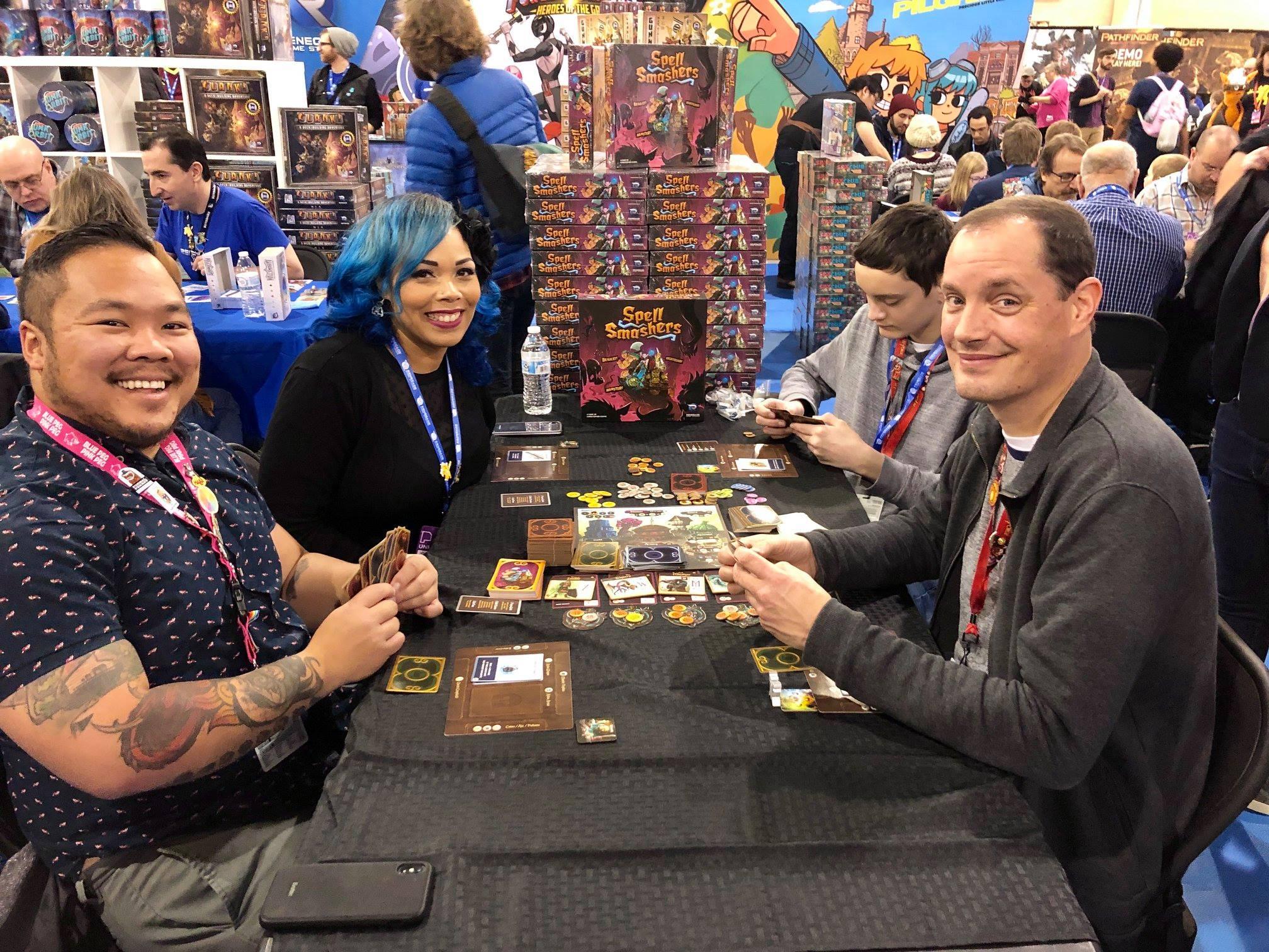 Slinging spells and having fun in Spell Smashers!