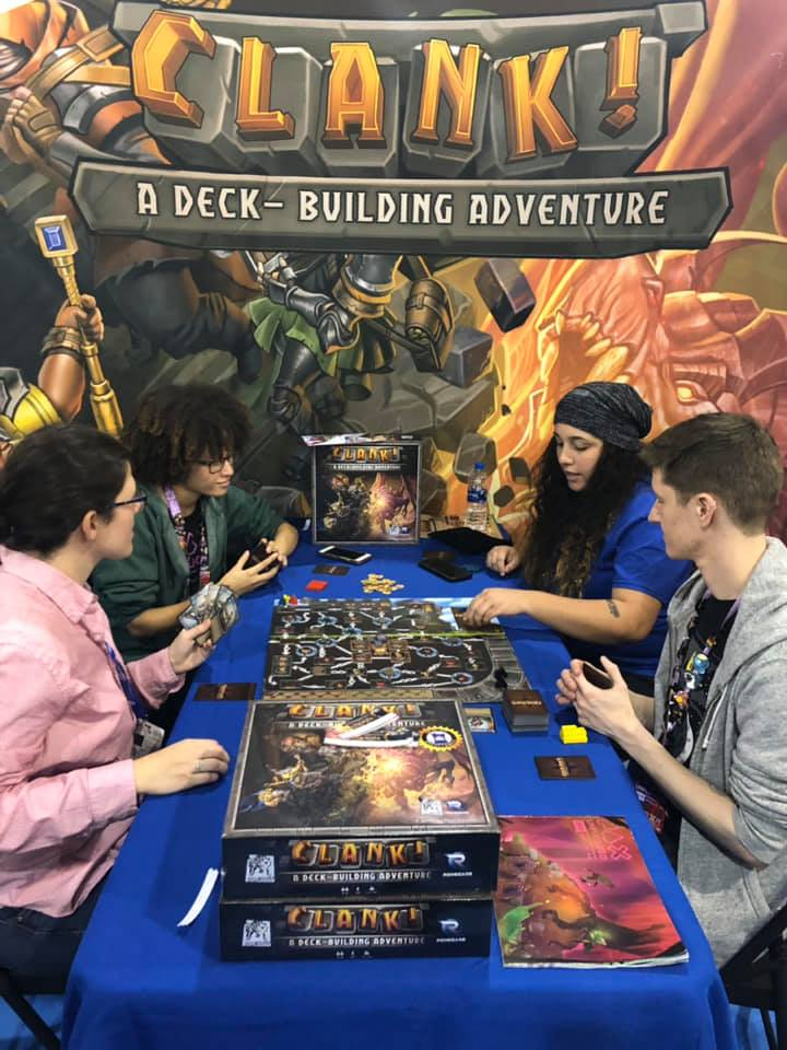 Teaching new players Clank! A Deck-Building Adventure!