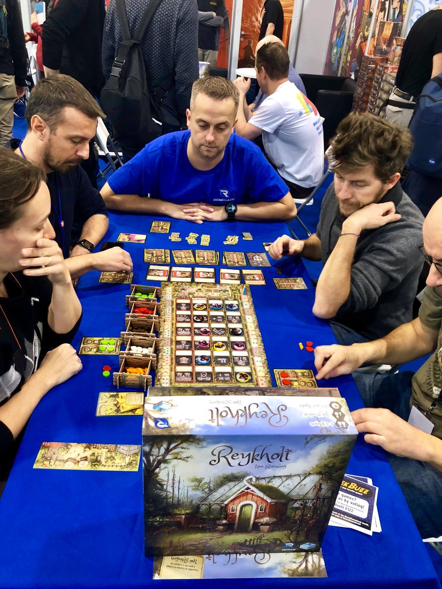 A full table of Reykholt!