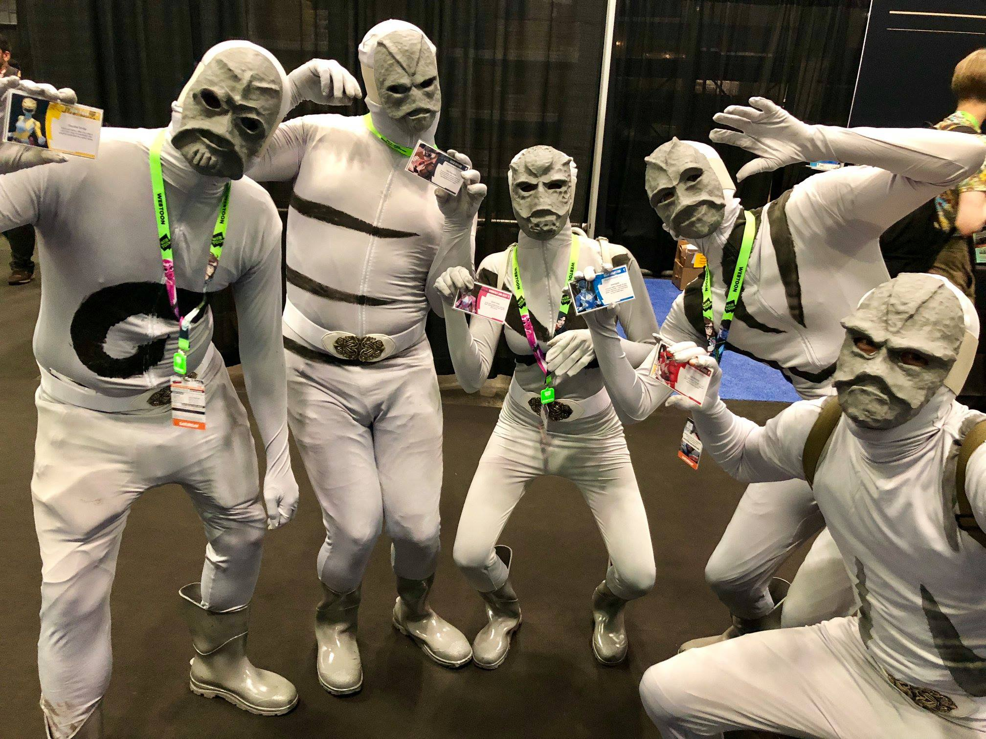 Putty Patrollers excited about Power Rangers: Heroes of the Grid!