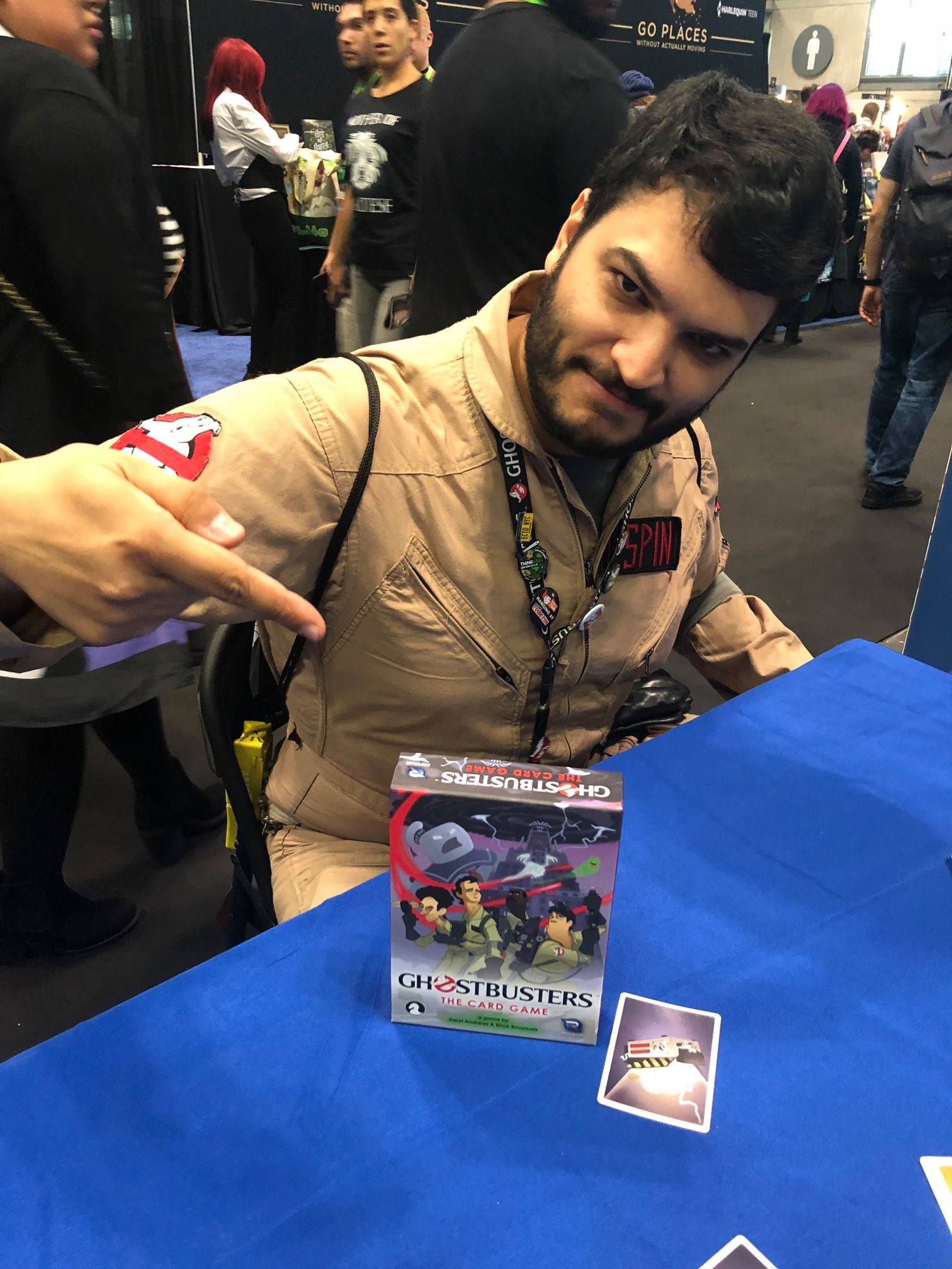Check out Ghostbusters: The Card Game!
