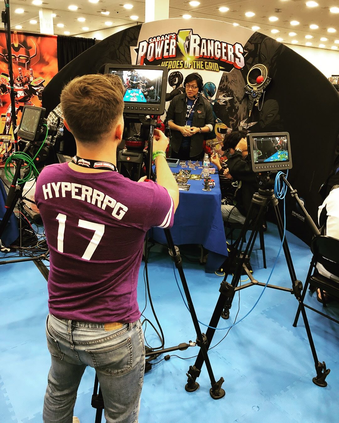 Hyper RPG playthrough filming!