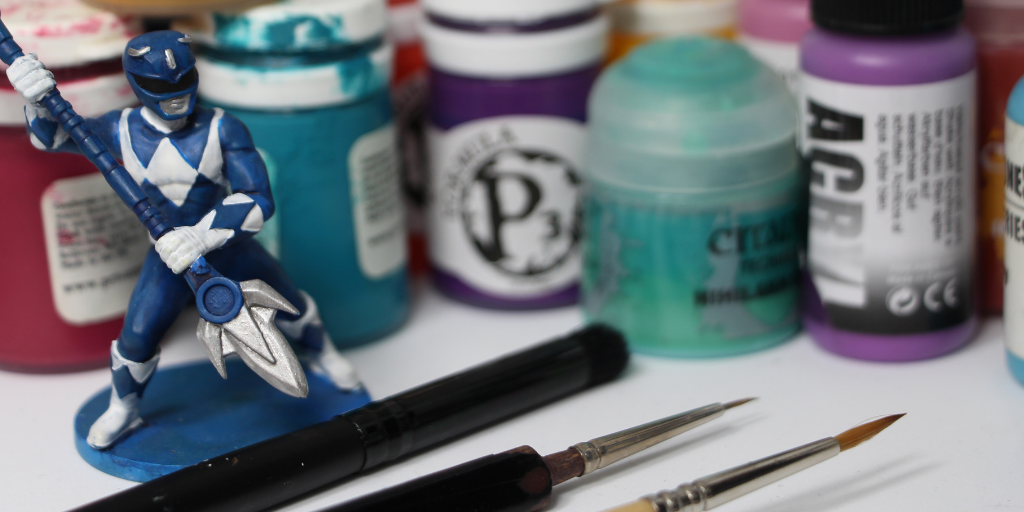 Getting Started in Miniature Painting: A Guide To Paints