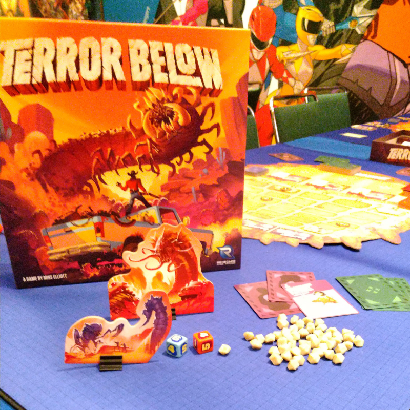 Terror Below on the Table