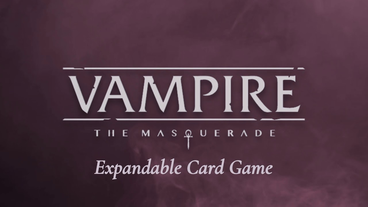 Vampire the Masquerade: Expandable Card Game Title