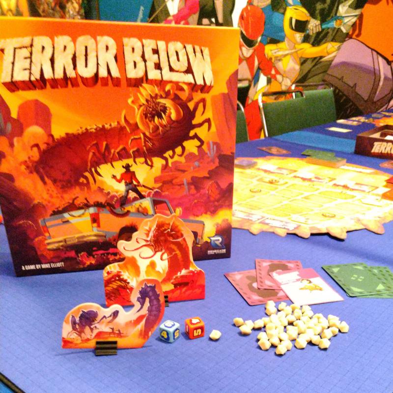Terror Below on the Table