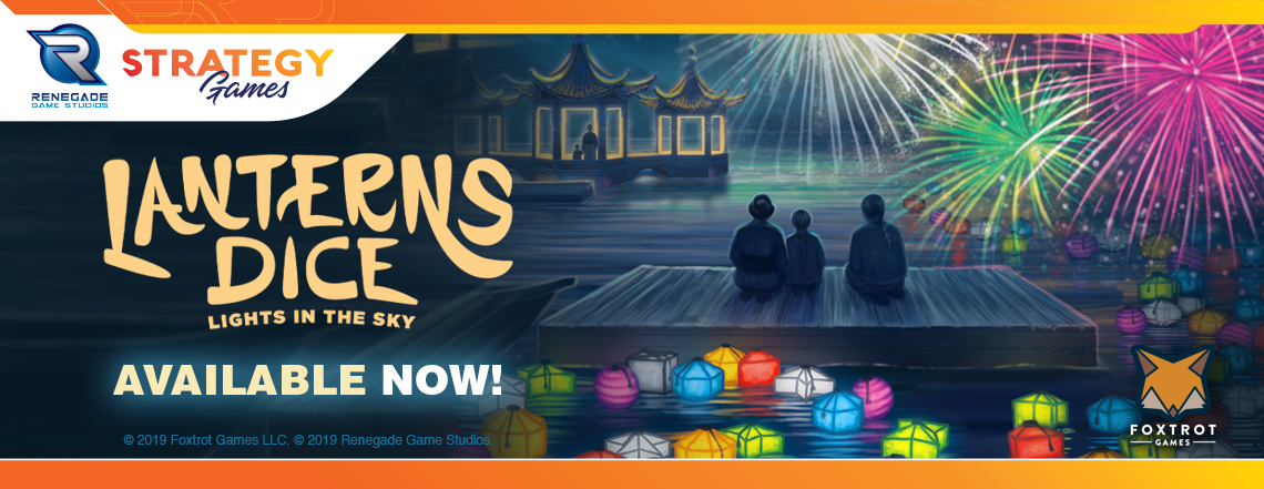 Lanterns Dice - Lights in the Sky Available Now!
