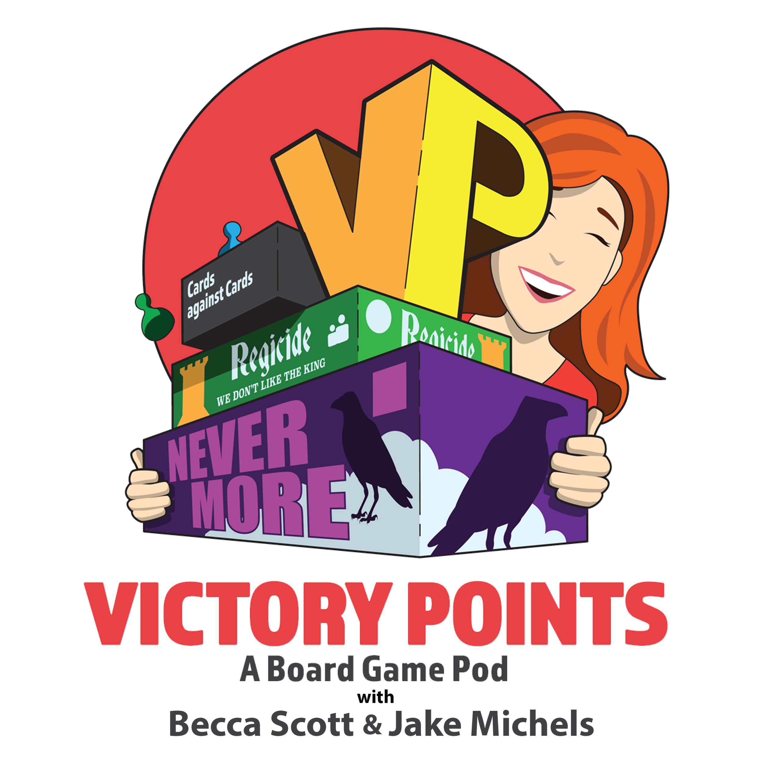 Victory Points - A Board Game Pod with Becca Scott and Jake Michels