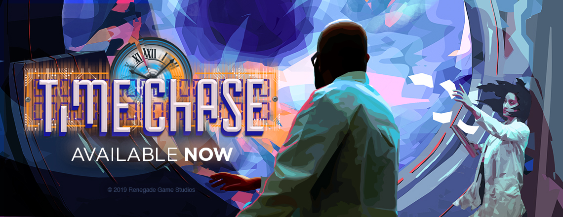 Time Chase  - A trick-taking game for 3-6, with a time-travel twist!