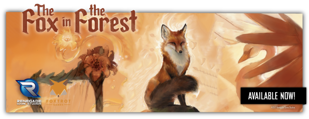 The Fox In The Forest  - A 2-player trick taking game!