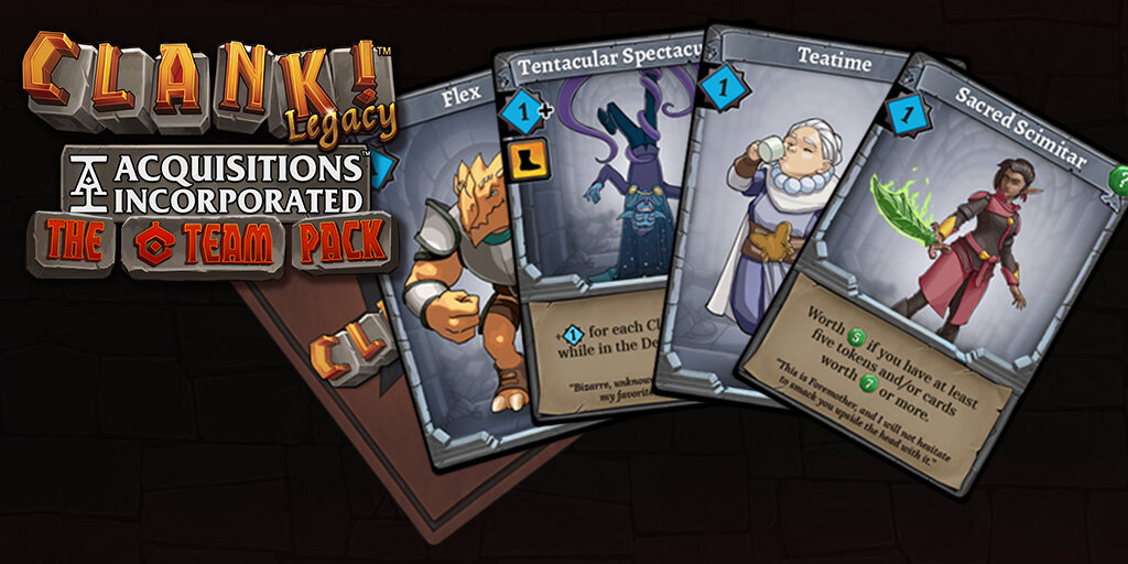 "New cards for Clank! in the ""C"" Team Pack"