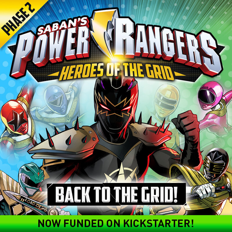 Power Rangers: Heroes of the Grid live on Kickstarter!