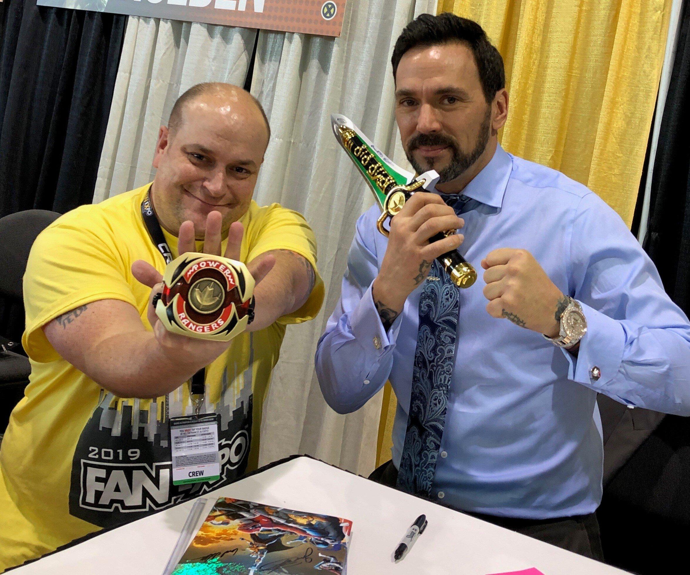 Louie Martinez with Jason David Frank