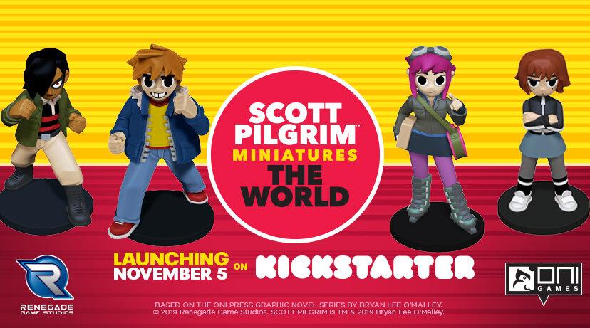 Scott Pilgrim Miniatures the World Launching November 5