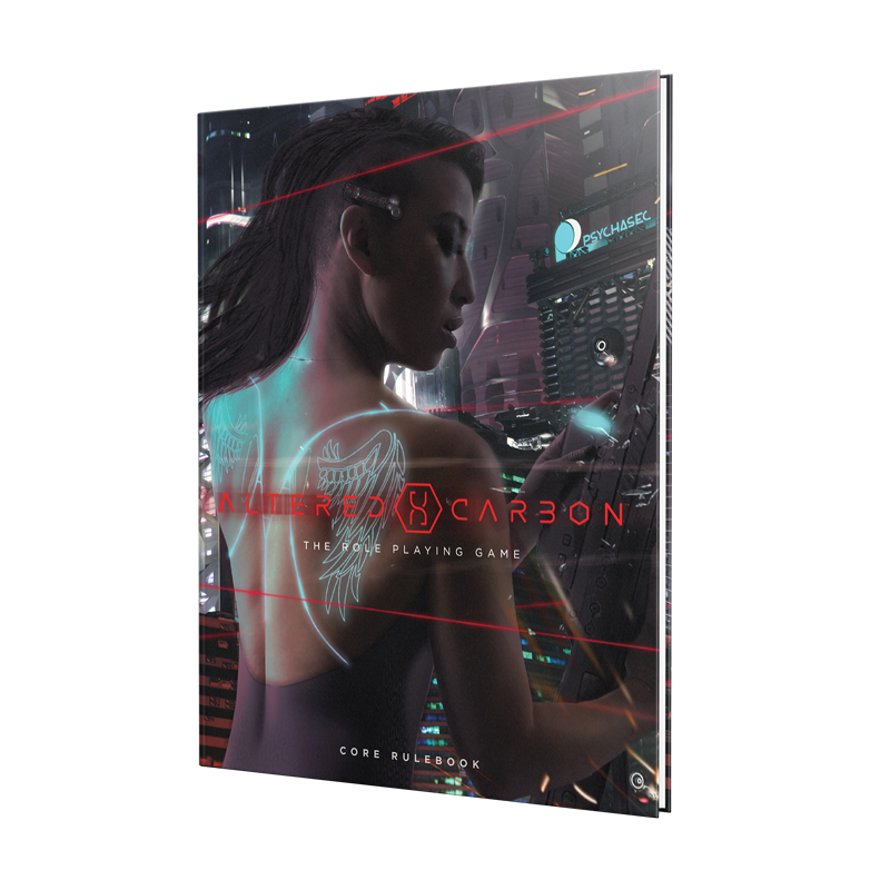 Announcing The Altered Carbon Role Playing Game — Renegade Game Studios
