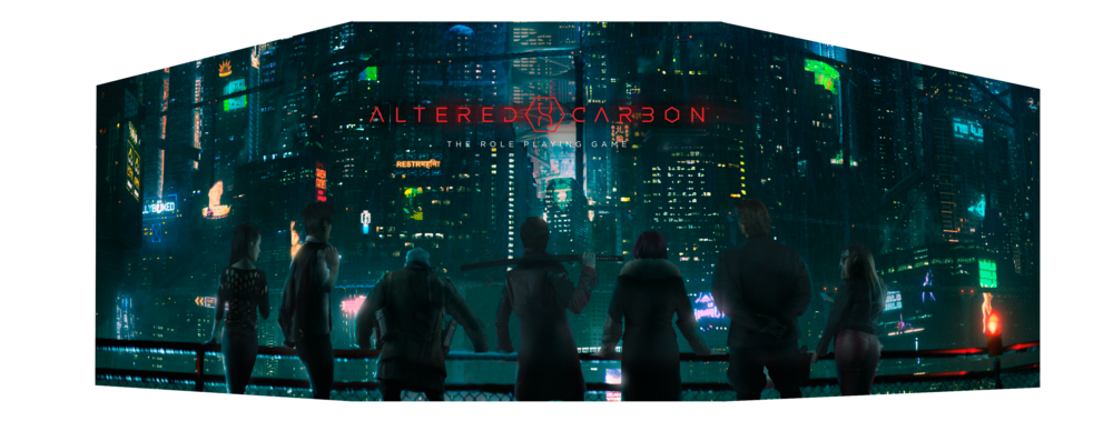 Altered Carbon The Roleplaying Game GM's Screen  (Click to Enlarge)