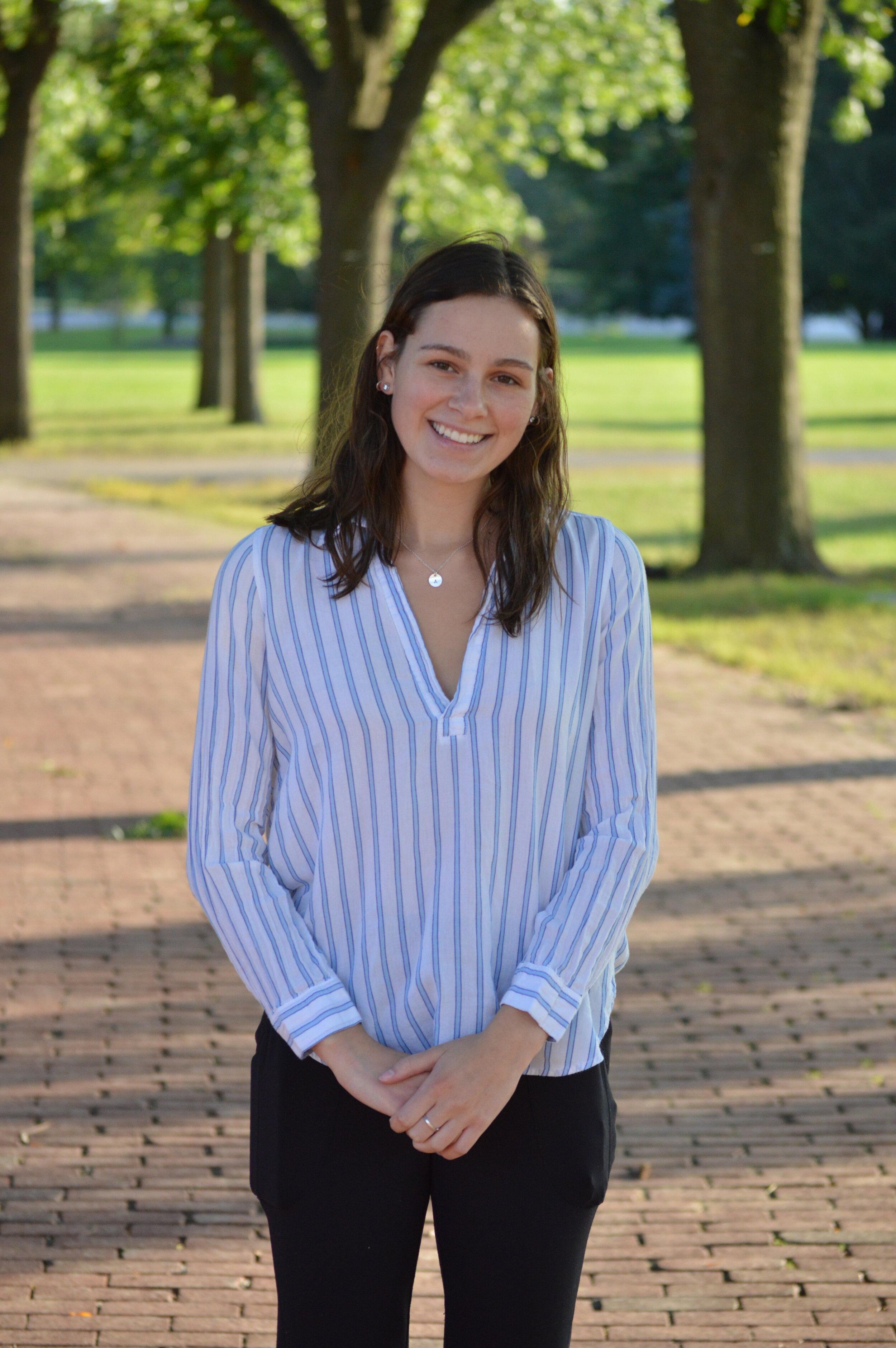 """Social Media coordinator - Name: Alexandra KonopaskiProgram: 3rd Year Accounting3 favourite things: Soccer, Shopping, Mac and CheeseFavourite TED Talk: """"What Makes a Good Life? Lessons from the Longest Study on Happiness"""" by Robert Waldinger"""