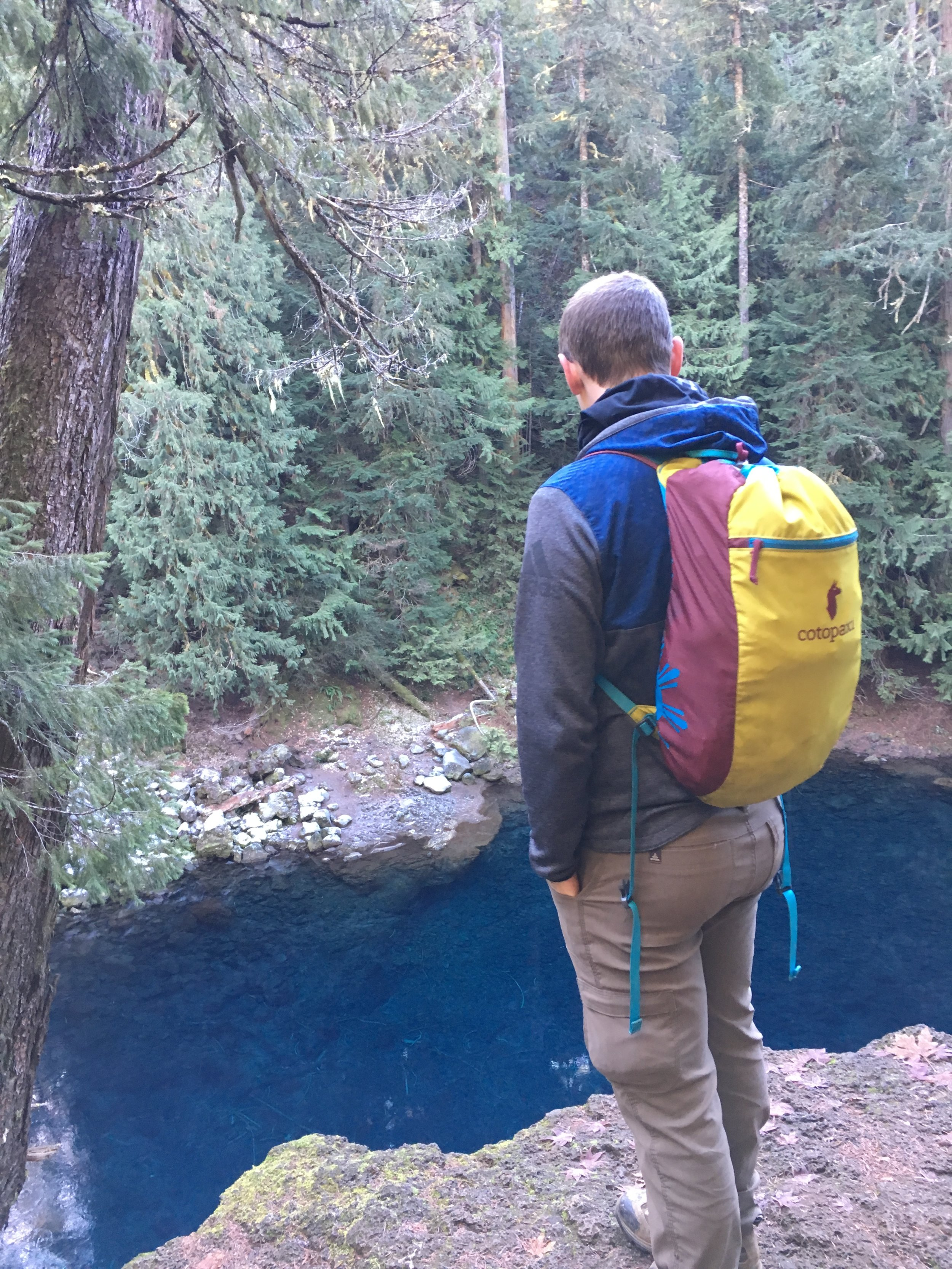 Blue Pool, Oregon
