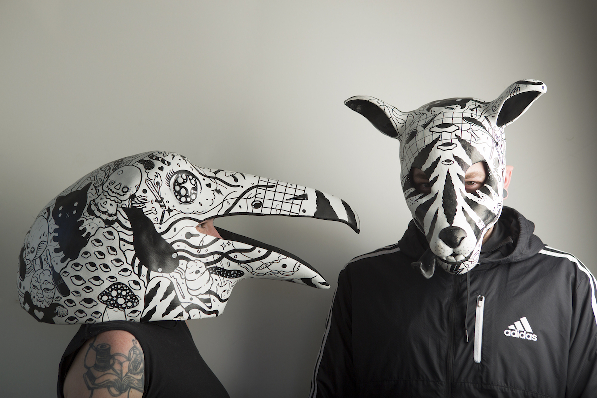 Raven & Jackal   -  Collaboration with  Nico Salazar  -   photo by  Kate Russell