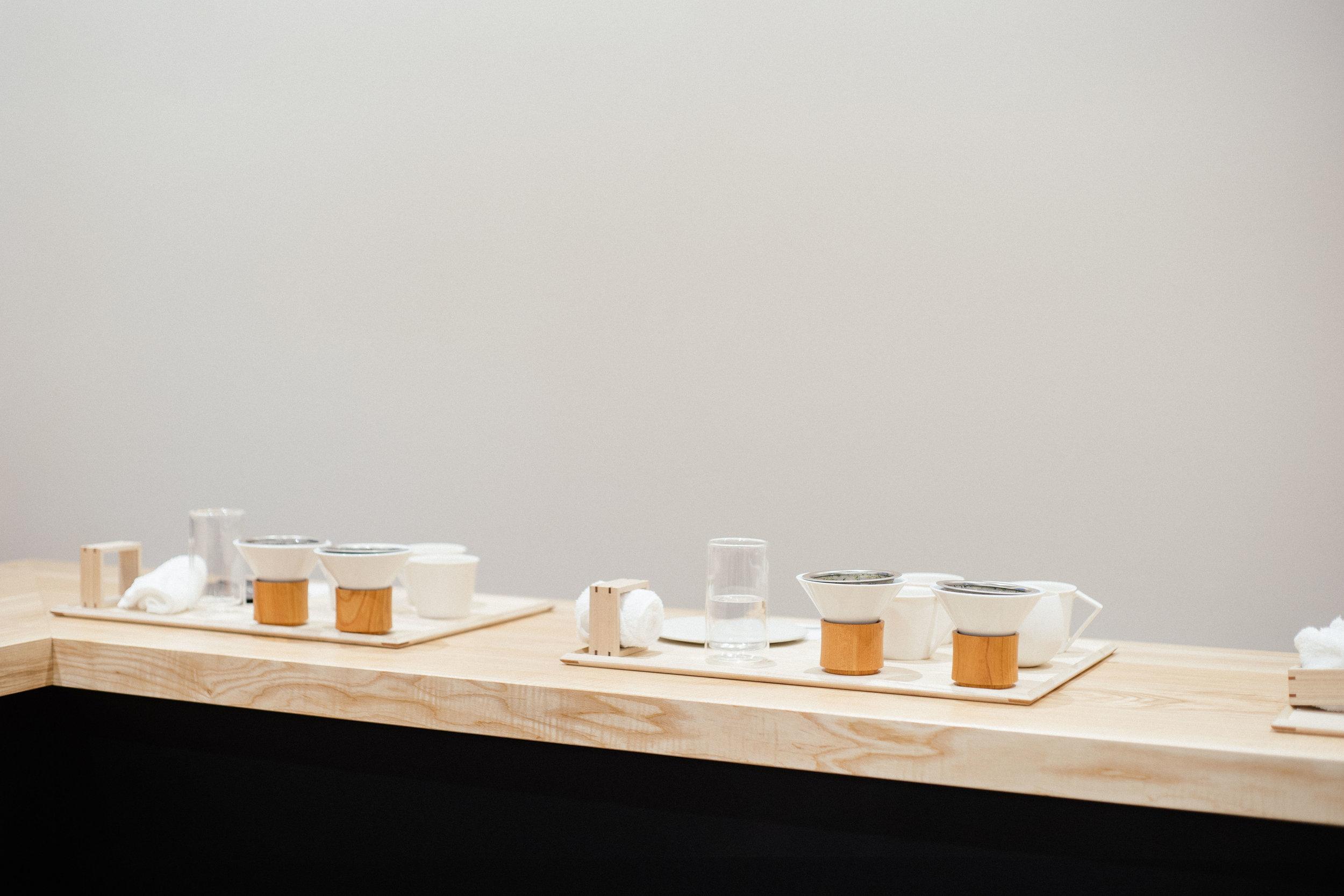 Tokyo Saryo Green brewing Tea Experience. Handdrip tea Sangenjaya, Tokyo guide.