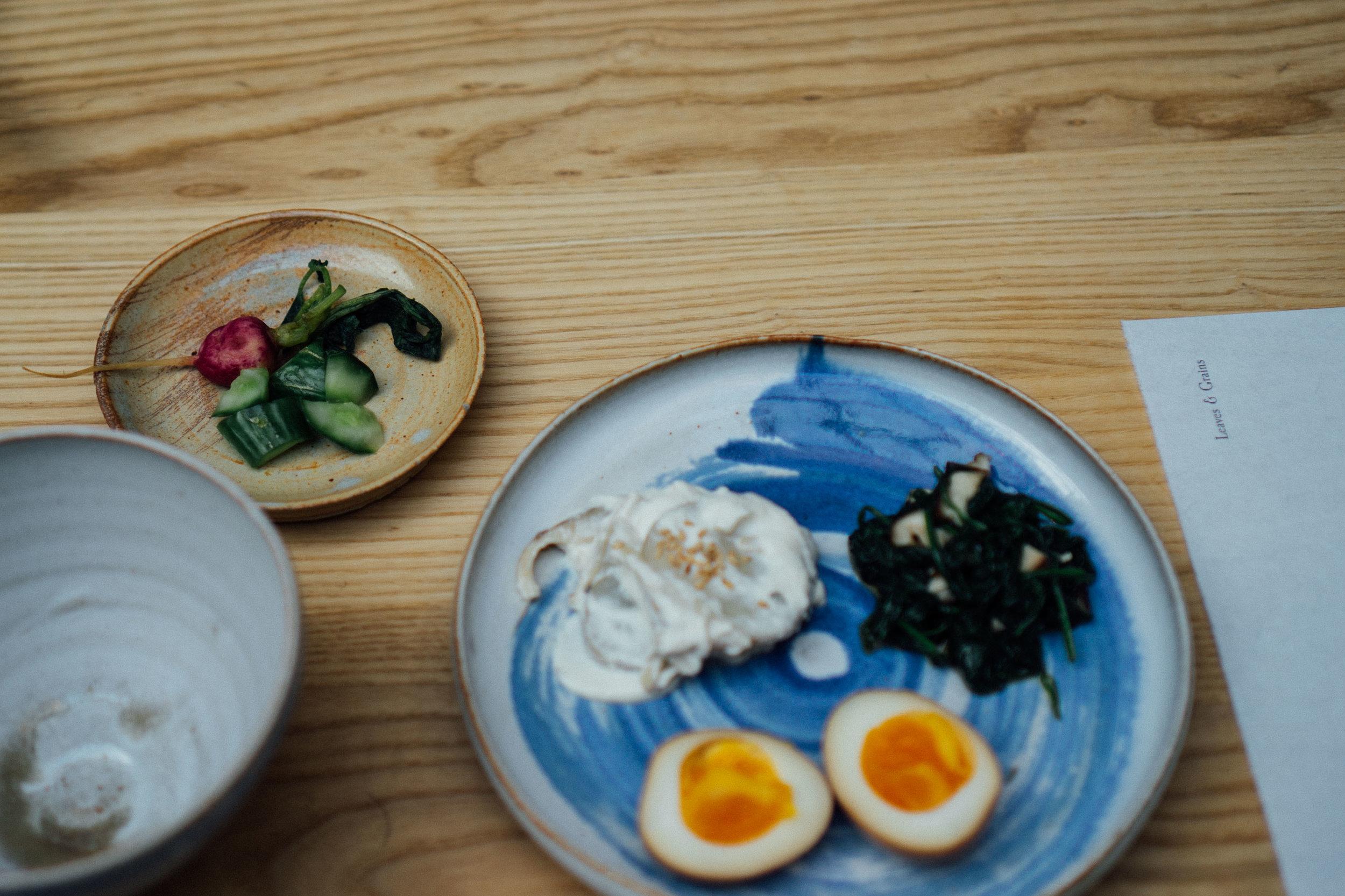 Japansk breakfast at Alma, Stockholm - by shellsten