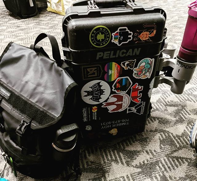 On my way to my next adventure. . . . #indiefeature #pineridgeindianreservation #steadicam #burbankairport