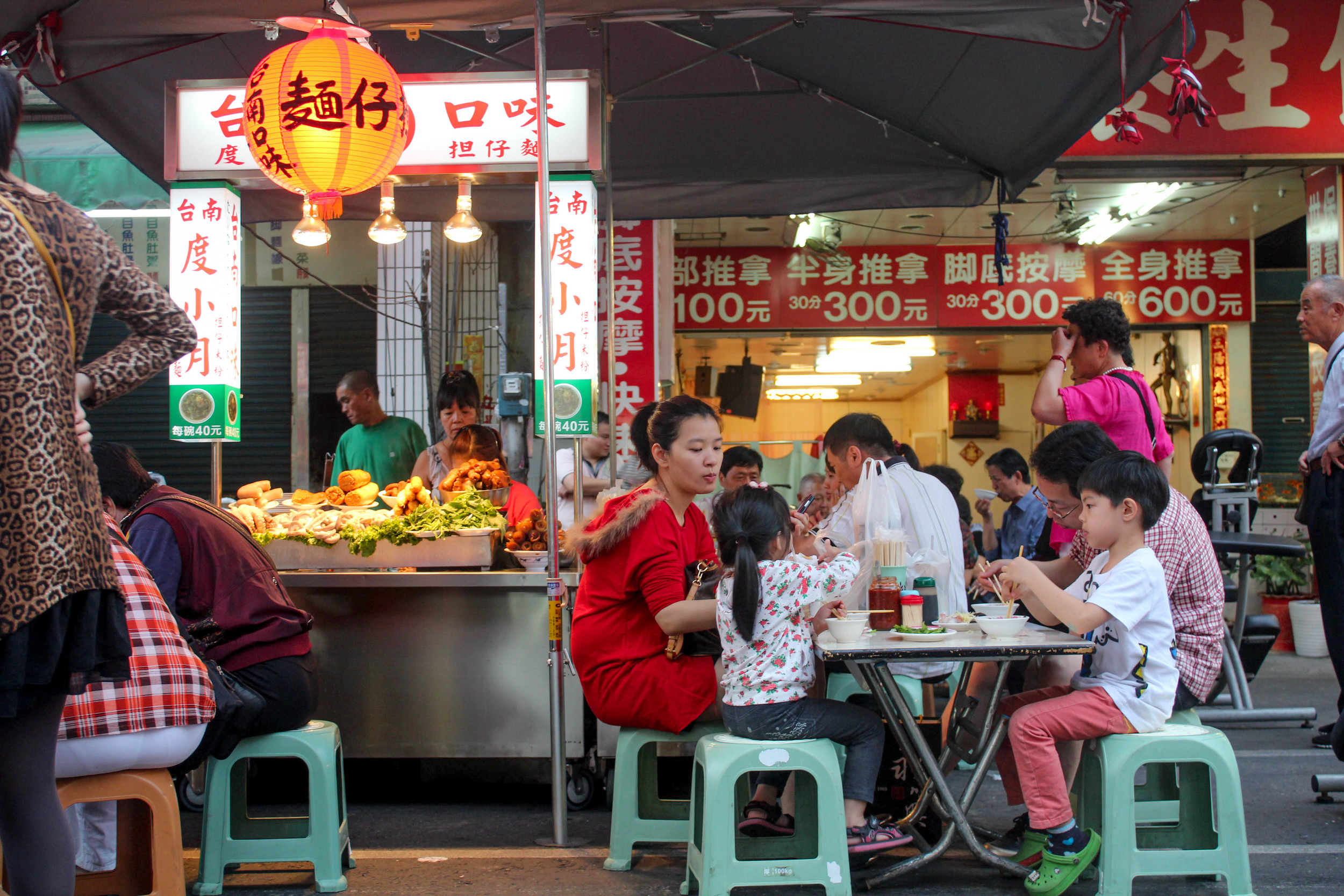Richmond's night market is nothing more than a filler for those who have experienced the madness in Asia. This is in Kaohsiung, Taiwan.