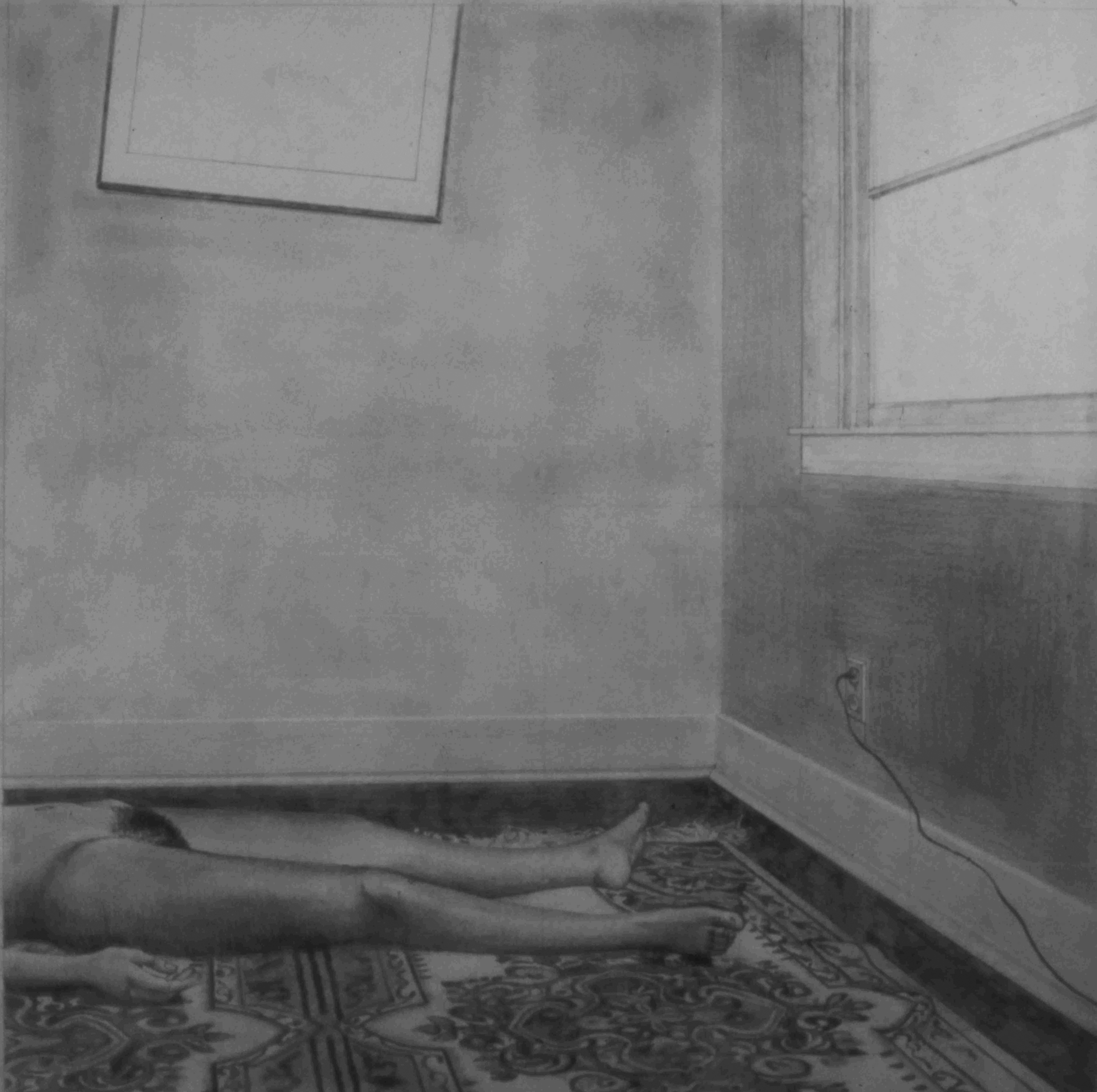 untitled study, 1979, drawing, 14 x 14""