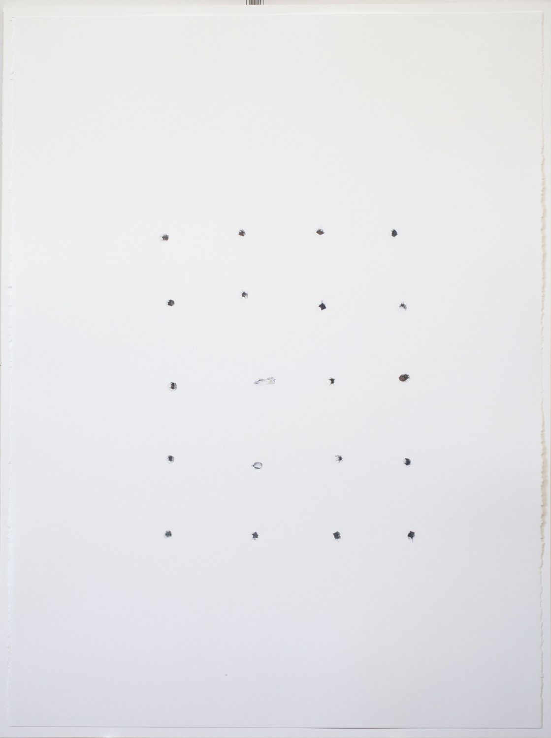 Claire Greenshaw,Pencil Pusher, 2015,coloured pencil on paper, 30 x 24 in.