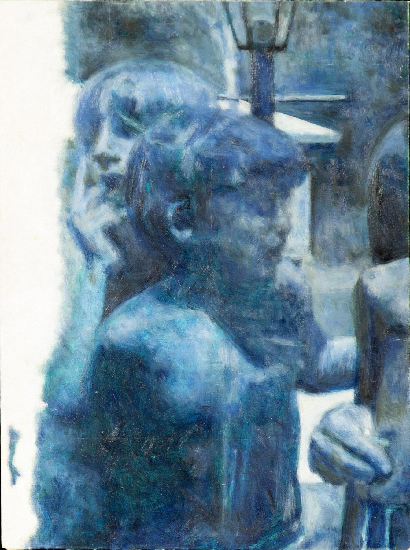 Sibling, 2009, oil on wood, 9 x 11 in.