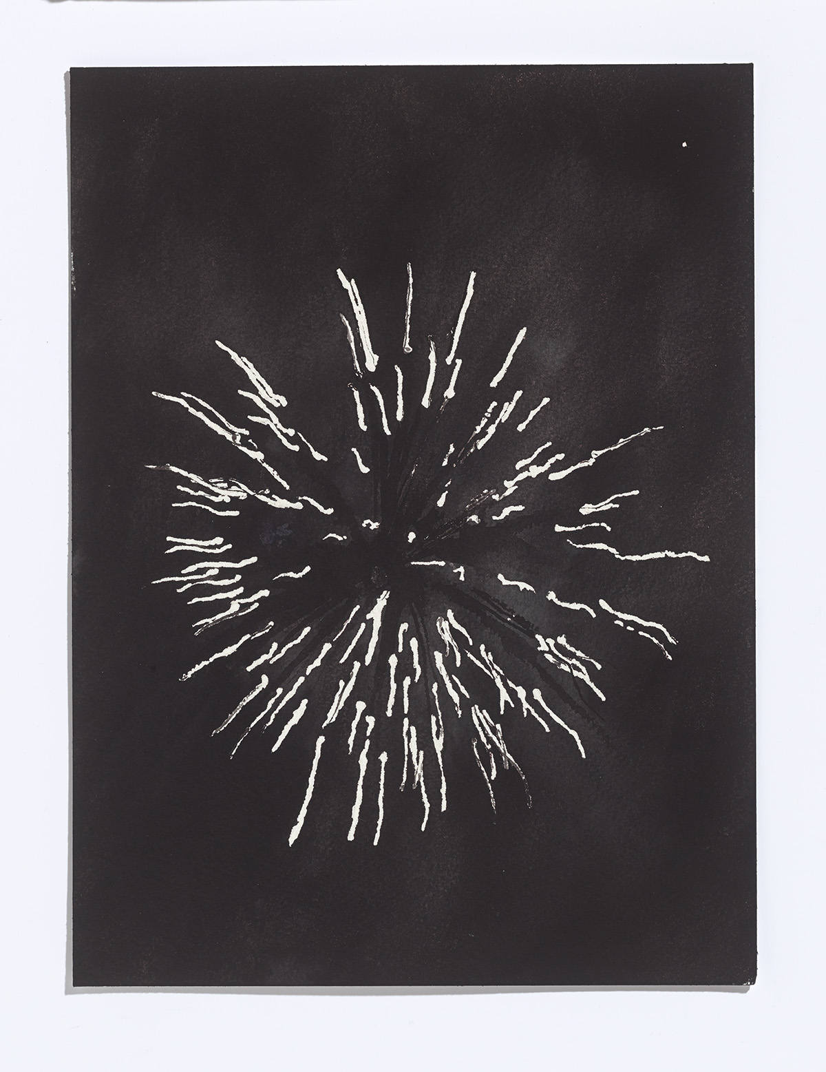 May Fireworks, 2017,ink on paper,9 x 12 ¼ inches $900 CAD $750 USD