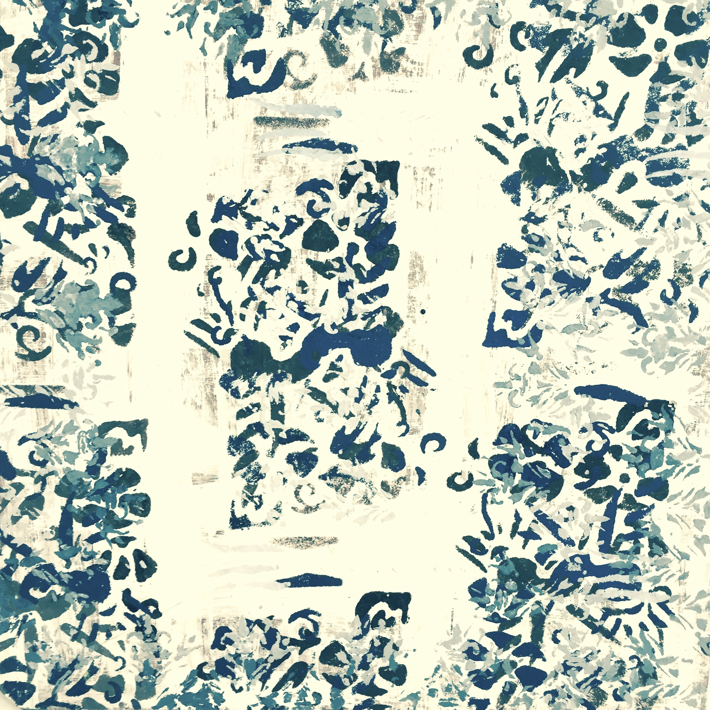 """The Ides of January , acrylic on masonite,14"""" x 14"""""""