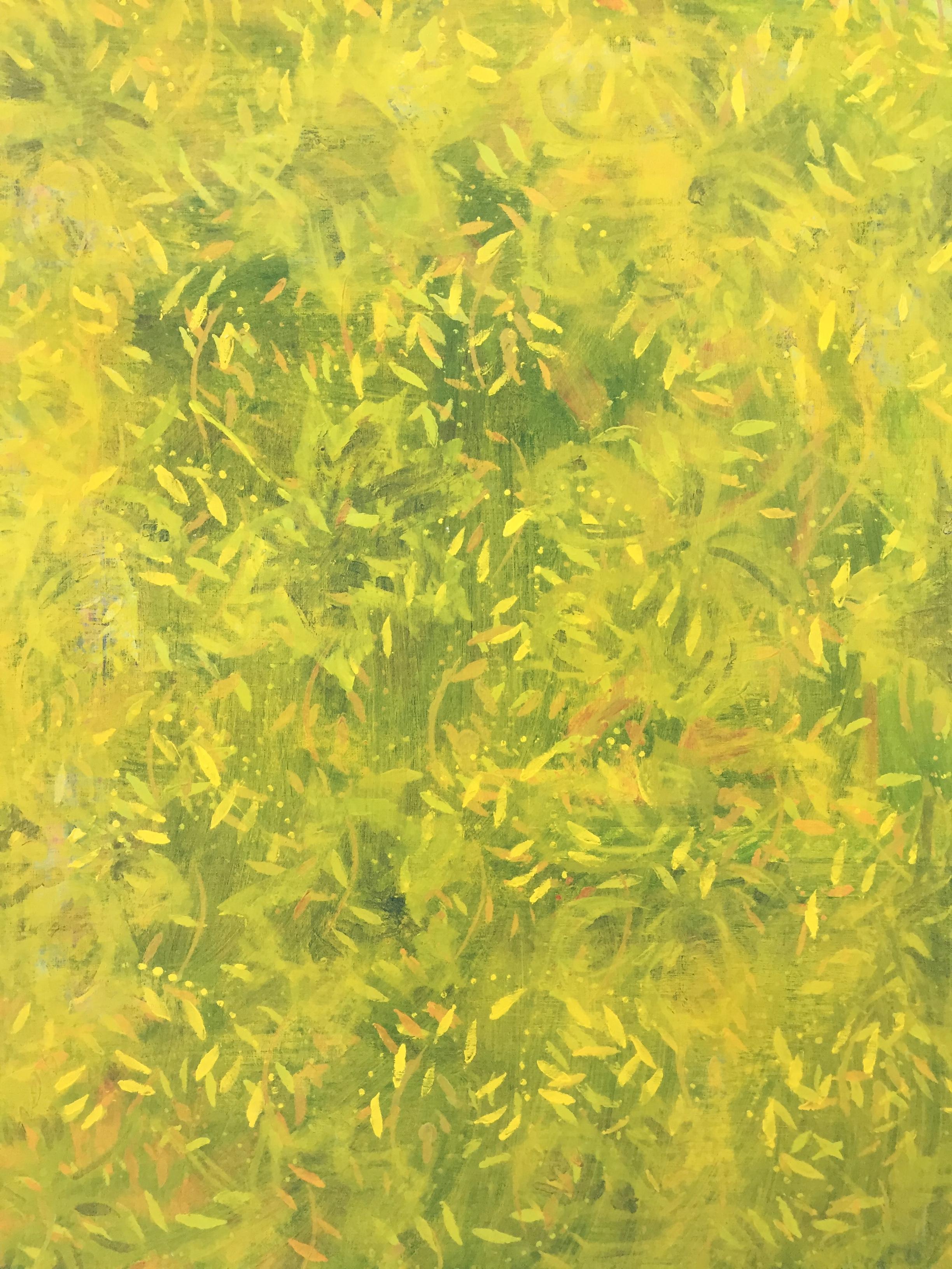 "The Crick, #2 , acrylic on artist board, 30"" x 24"""