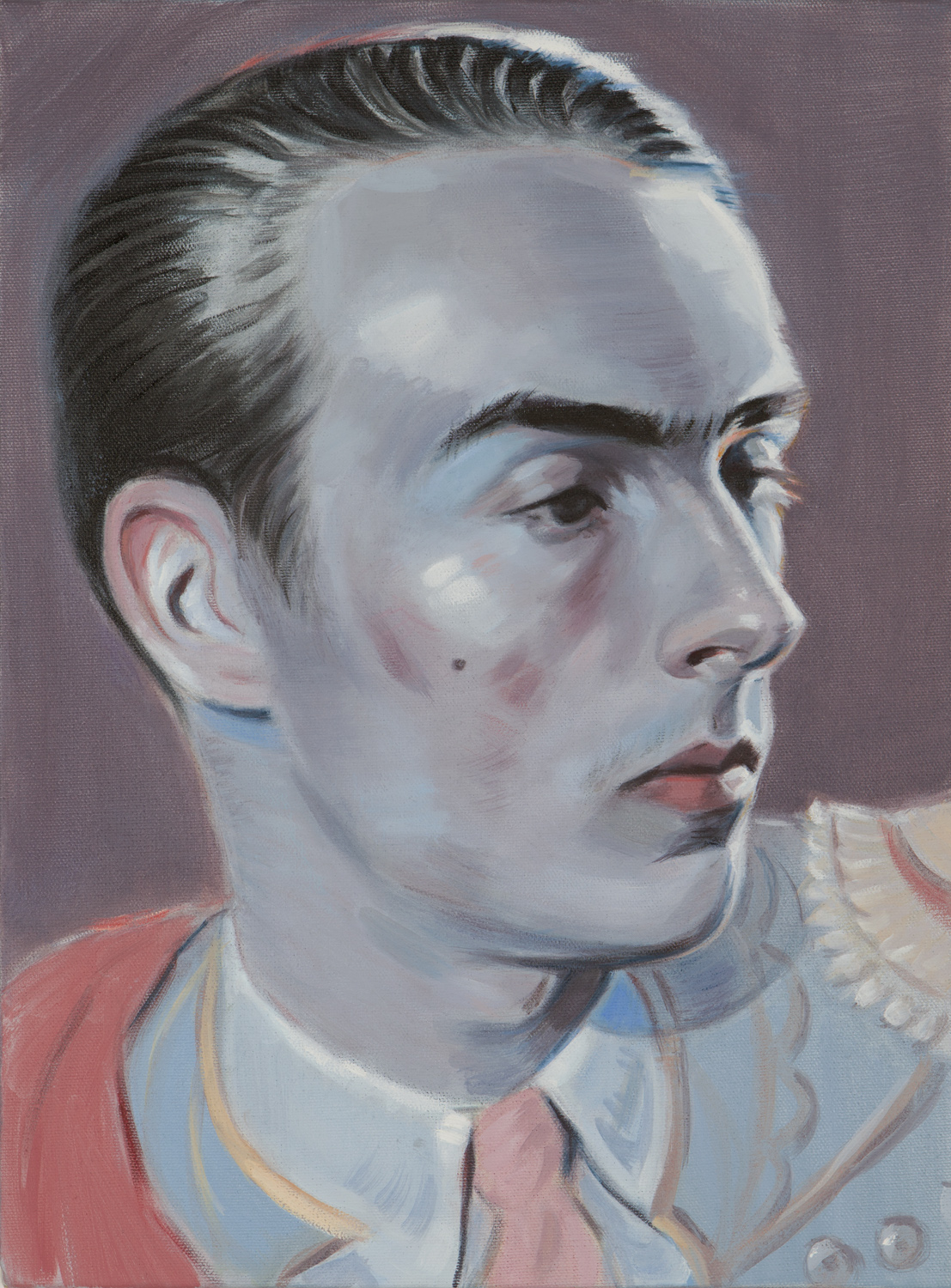 Kris Knight, Paso Doble , 2017, oil on canvas, 16 x12 inches