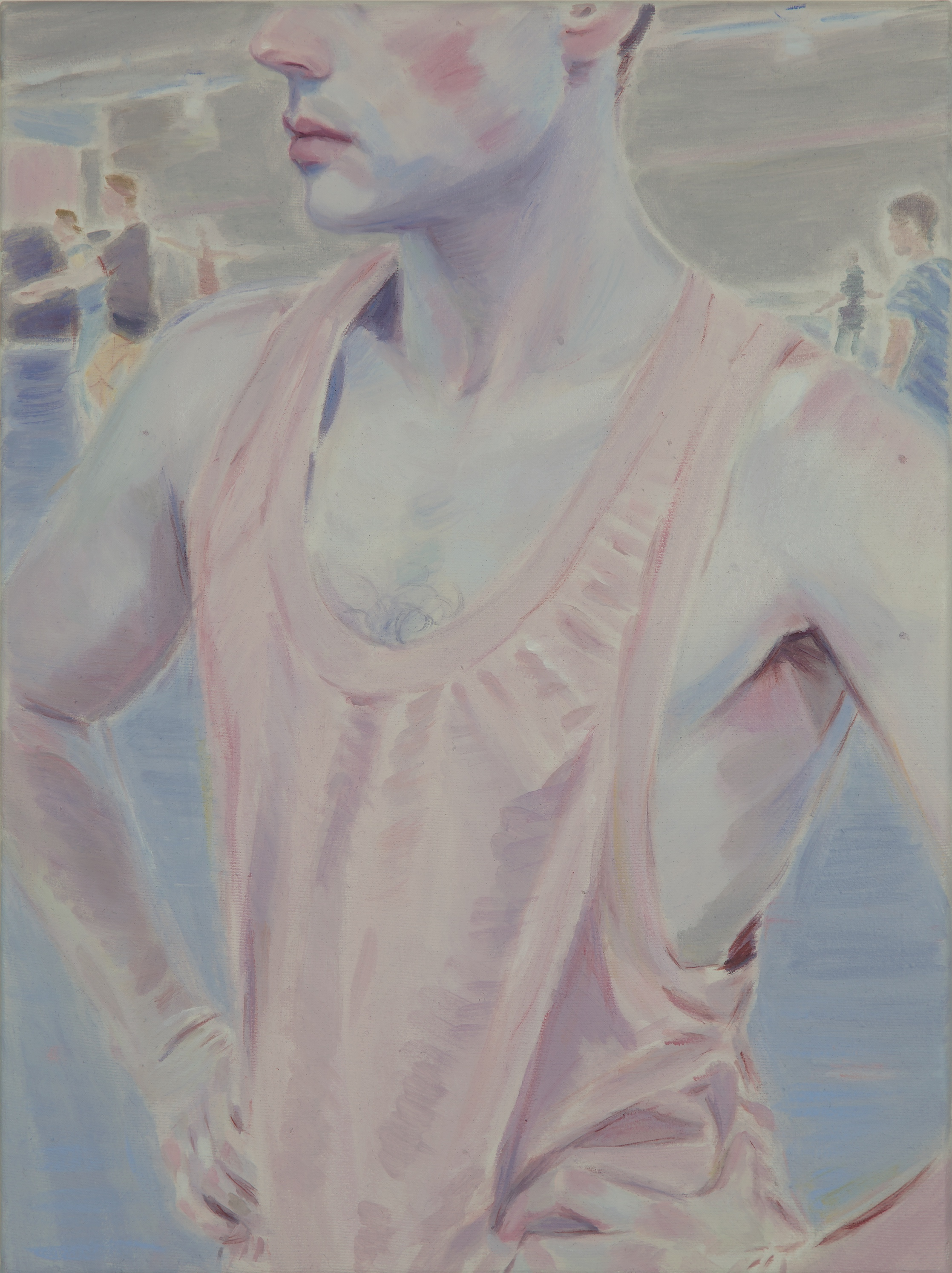 Kris Knight,  Suss Out , 2017, oil on canvas, 16 x 12 inches SOLD