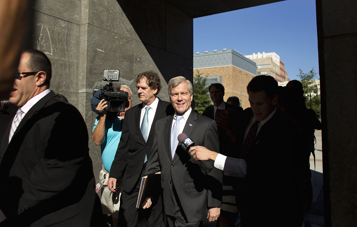 Former Virginia Governor Bob McDonnell