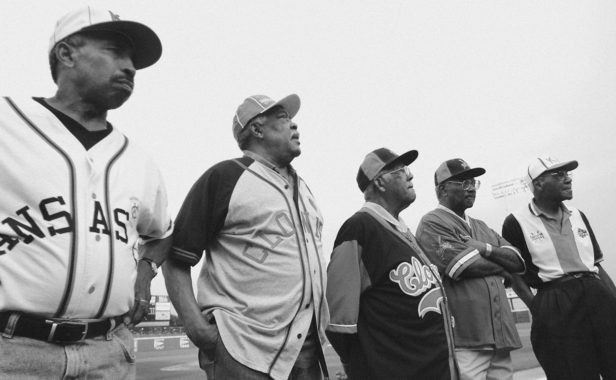 The city of Norfolk Virginia and the Norfolk Tides sponsored a salute to the Negro Leagues. Five men, four local who played in the legendary leagues were on hand.