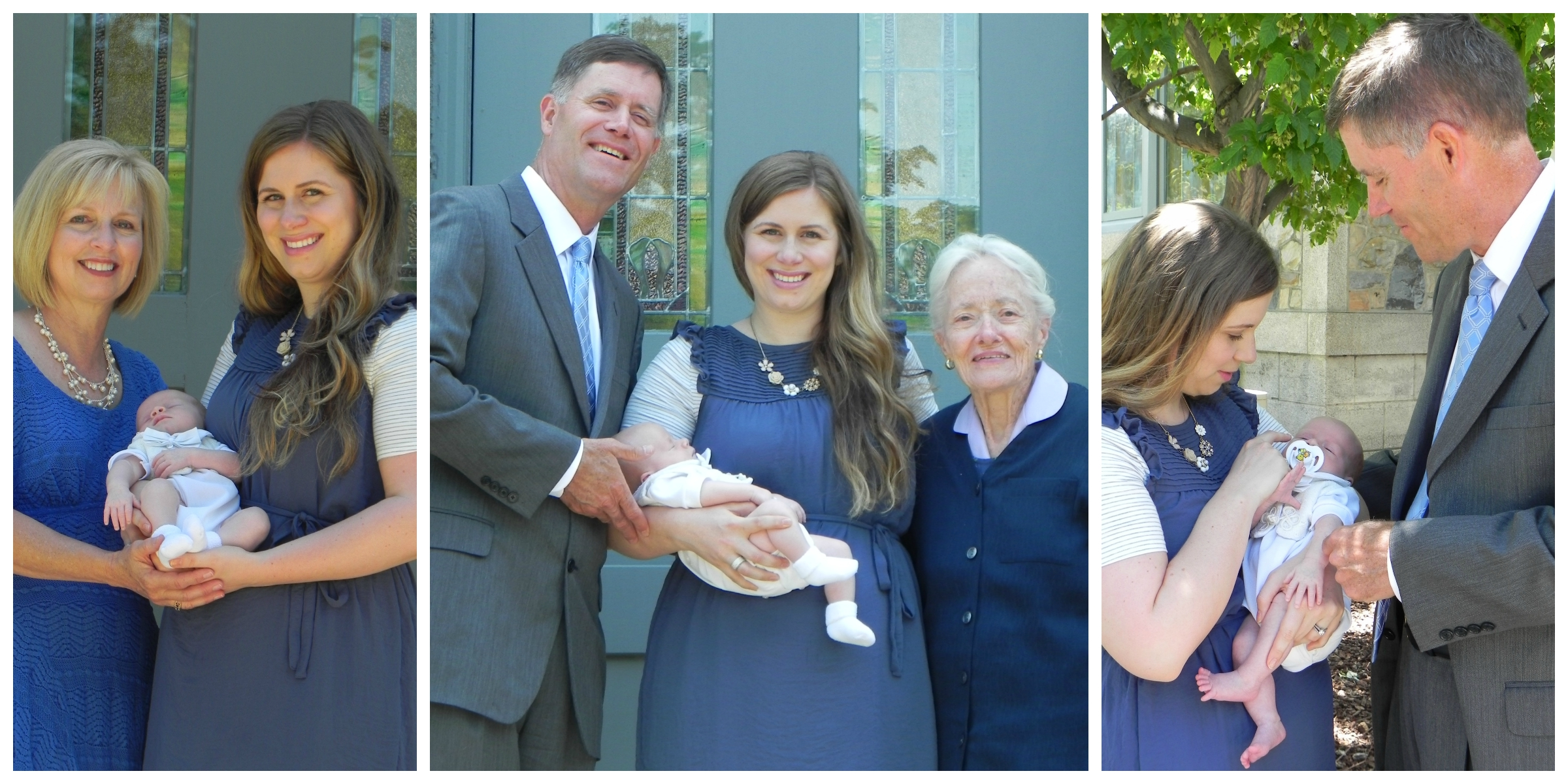 Redd with mama and nana, White 4 generation photo and Redd with mama and papa