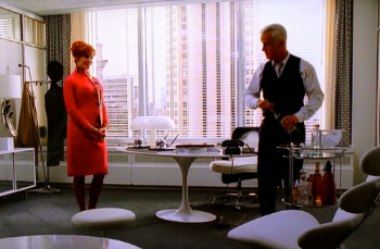 Roger Sterling uses his as a desk! You can too...