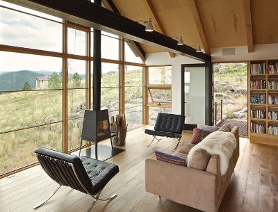 Sustainable home by Boulder-based architect  Renee del Guadio