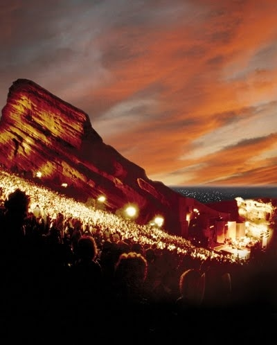 Red Rocks Amphitheater via  Roadtrippers