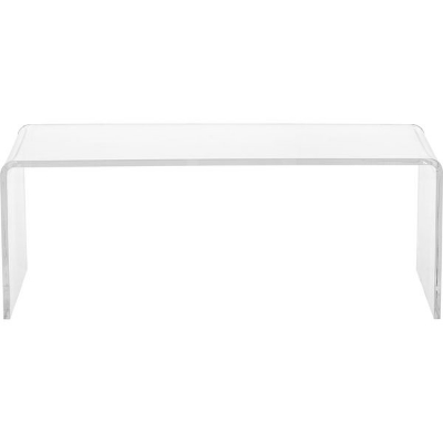 Clear Acrylic Coffee Table, $271, via  Overstock