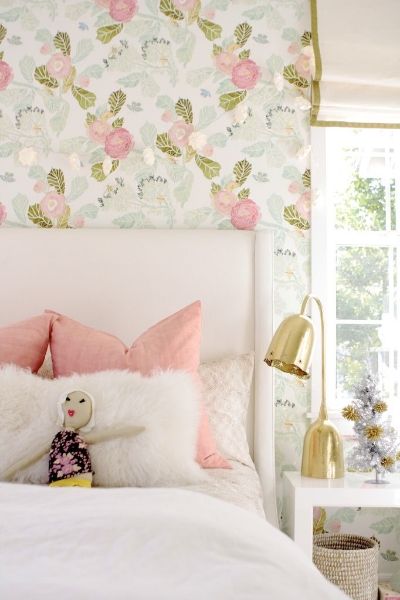 Adorable girl's room by  Owens + Davis