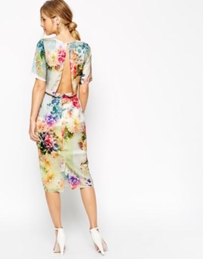 Midi Dress via  Asos