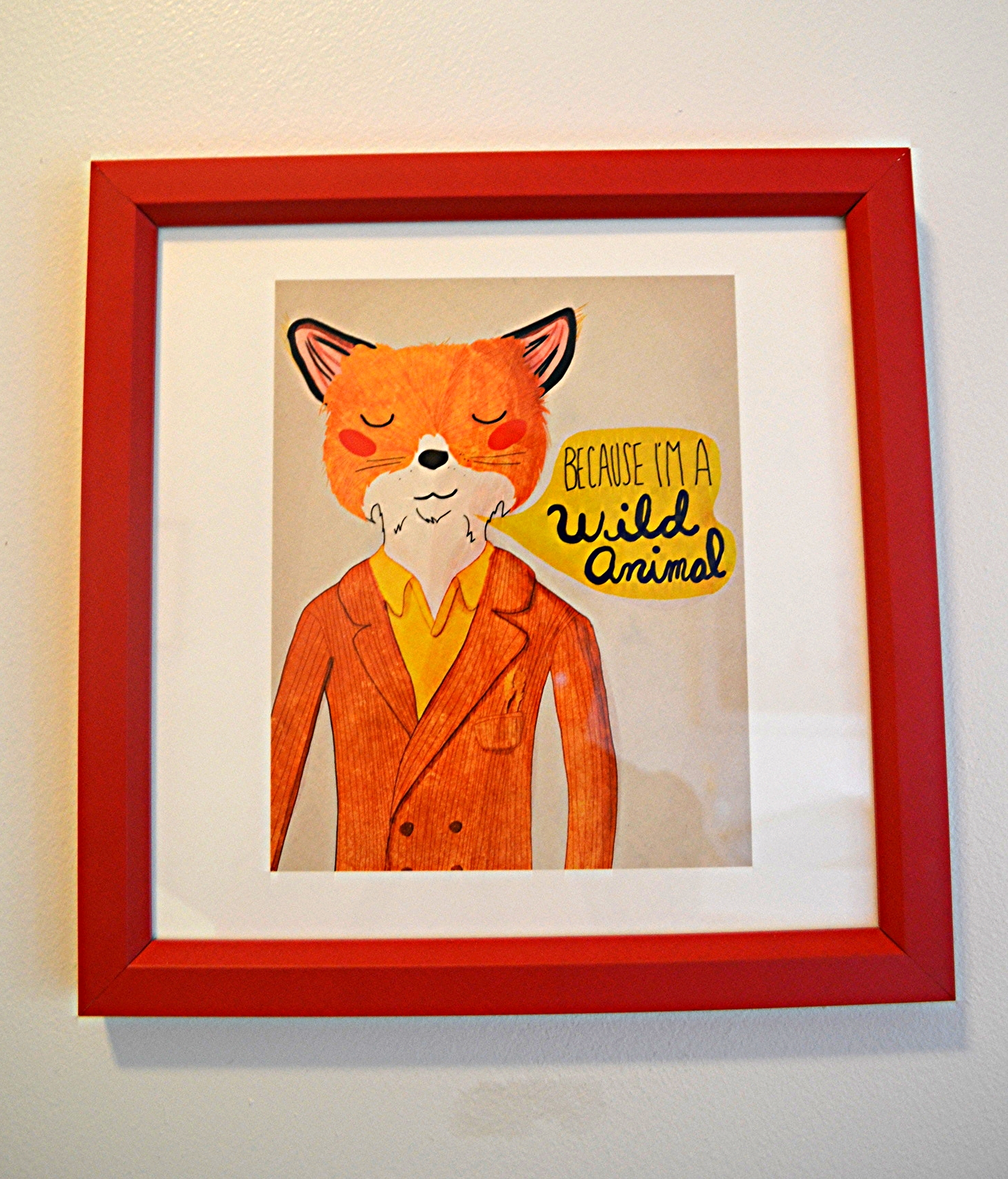 Fox Print from  Society6